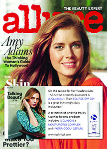Andrea Pejie favorite beauty products