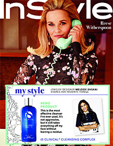 Melody Ehsani favorite face cleanser
