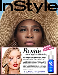 Rosie Huntington-Whiteley must-have beauty website
