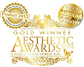 gold winner aesthetic awards