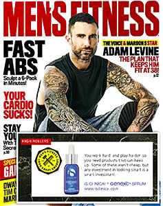 mens fitness award Genexc Serium