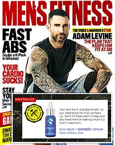 mens fitness award Genexc Serium