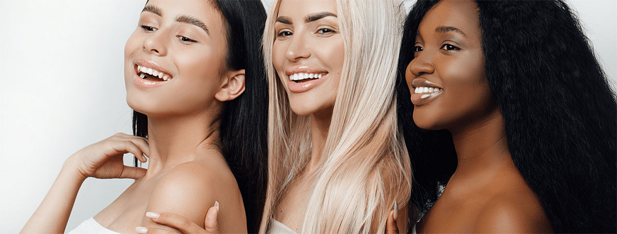 Beauty in every skin colour