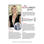 the red carpet facial Gwynth Paltrow